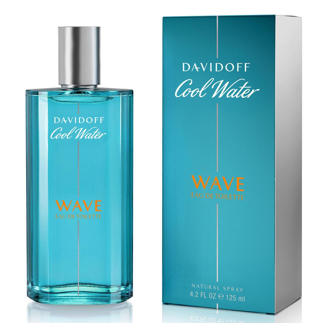 Davidoff Cool Water Wave Туалетная вода мужская 125 мл46997032000Цвет флакона и упаковки светлее классического Davidoff Cool Water, символизируя цвет волны, на которой сёрфер оставляет свой шлейф.