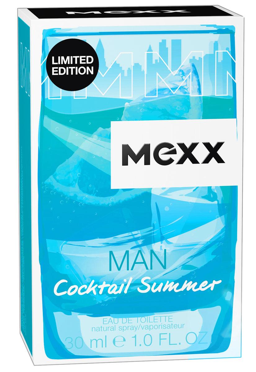 Mexx Cocktail Summer Man М Туалетная вода 30 мл8005610372778Лето – это не только путешествия в жаркие страны. Мы знаем, как наслаждаться летом, не выезжая из города: вечером после рабочего дня солнце еще ярко светит, и мы отдыхаем, потягивая прохладные коктейли. Лето 2017 будет коктейльным!