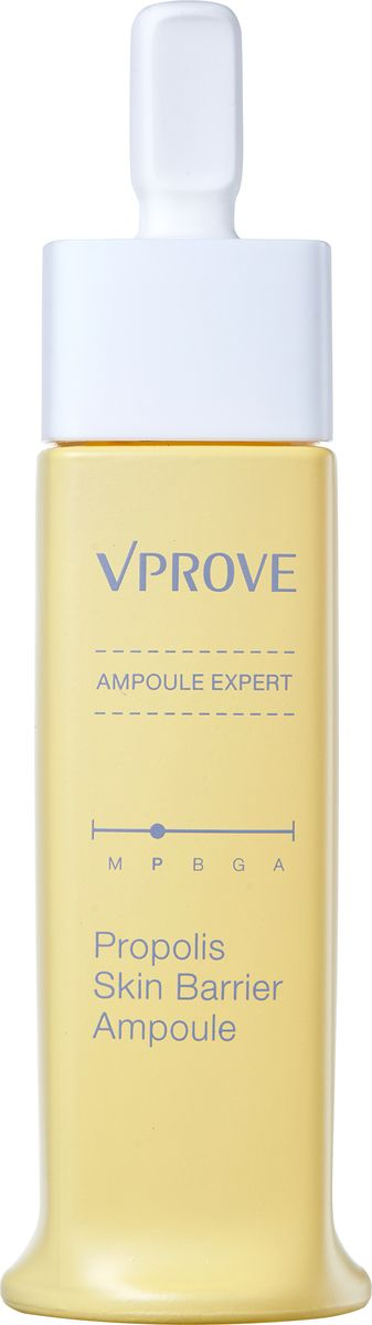 Vprove Питательная ампула Эксперт, прополис, 30 млVEAES0002Уникальная облегченная текстура ампул позволят средствам легче проникать в слои кожи и быстрее воздействовать на несовершенства, устраняя их. Мягкая формула ампул подойдет даже обладателям чувствительной кожи. Средства не оставляют ощущения липкости и жирности после использования. Кроме того, каждая ампула разработана для решения конкретных проблем определенного типа кожи, что помогает усилить ее эффективность. Средства содержат био-дермоглюкан, запатентованный брендом Vprove, он поддерживает иммунитет кожи, увлажняет ее и смягчает. Акваксил и пантенол выравнивают баланс кожи и заряжают ее влагой, а комплекс трав и аллантоин успокаивают воспаления и ускоряют процессы заживления микроповреждений. Ампула содержит экстракт прополиса, который интенсивно питает кожу и придает ей сияние.