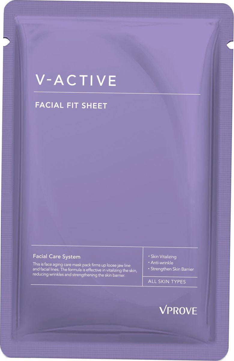 Vprove Лифтинг маска для линии подбородка Ви Эктив, 25 гVVAMP0001V-образная лифтинг-маска для области подбородка направлена на интенсивное увлажнение и питание кожи, благодаря которым она становится более гладкой и упругой. В состав маски входит пептидный комплекс:PepG-Collapep5: Тонкие линии(морщин) уменьшаются на 66,6% / Упругость кожи повышается на 60% / PepG-Hexapep9: Тонкие линии уменьшаются на 66,6% / Риск появления акне снижается на 53,3%PepG-AcetH5: заживление ран, лифтинг-эффектPepG-copep10: ускоряет выработку коллагенаPepG-Pentapep5: уменьшает глубину и размер морщинТакже в состав средства входит био-дермоглюкан, запатентованный брендом Vprove, он поддерживает иммунитет кожи, увлажняет ее и смягчает.Маска подтягивает контур лица, благодаря специальной форме (она имеет специальные крепления за уши).