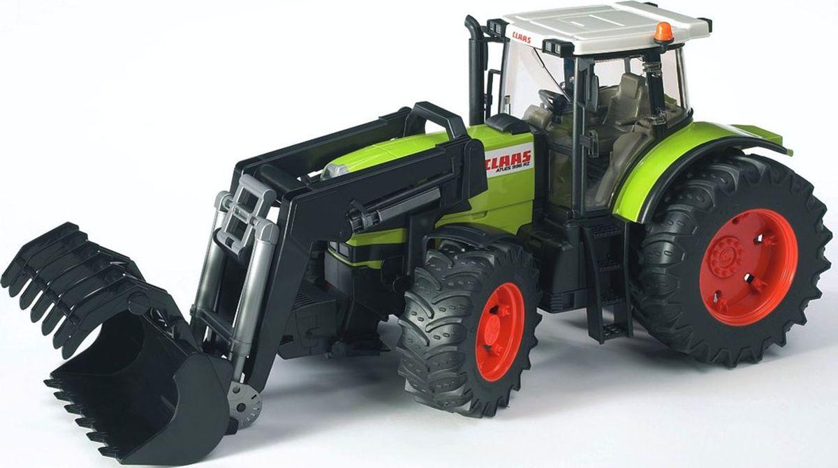 Bruder Трактор Claas Atles 936 RZ c погрузчиком игрушка bruder fendt favorit 926 vario трактор с погрузчиком 02 062
