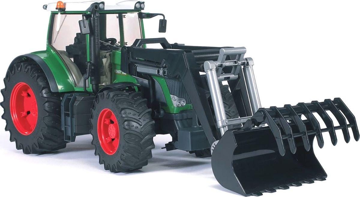 Bruder Трактор Fendt 936 Vario с погрузчиком игрушка bruder fendt favorit 926 vario трактор с погрузчиком 02 062