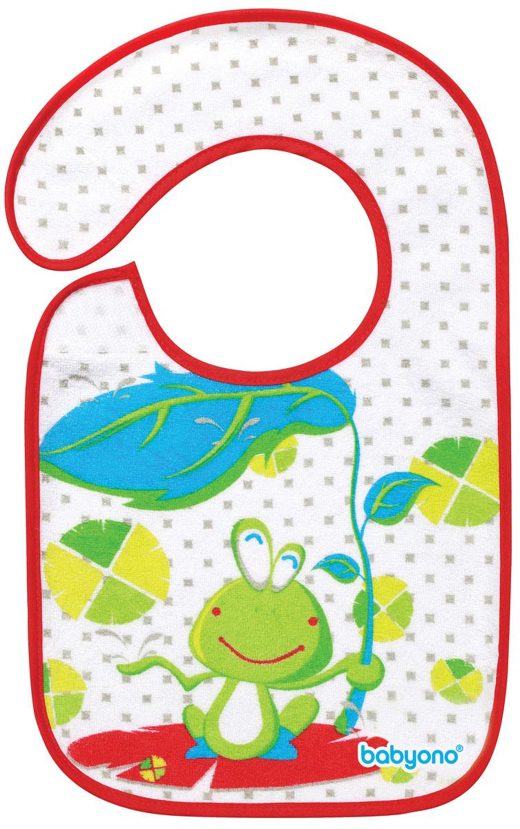 BabyOnoНагрудник на липучке Лягушка