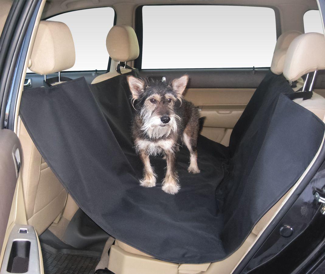 Накидка для перевозки собак, цвет: черный, 150 х 150 см. daf 0210120710Способ крепления: надевается на подголовникиМатериал: водоотталкивающий материал (600D)