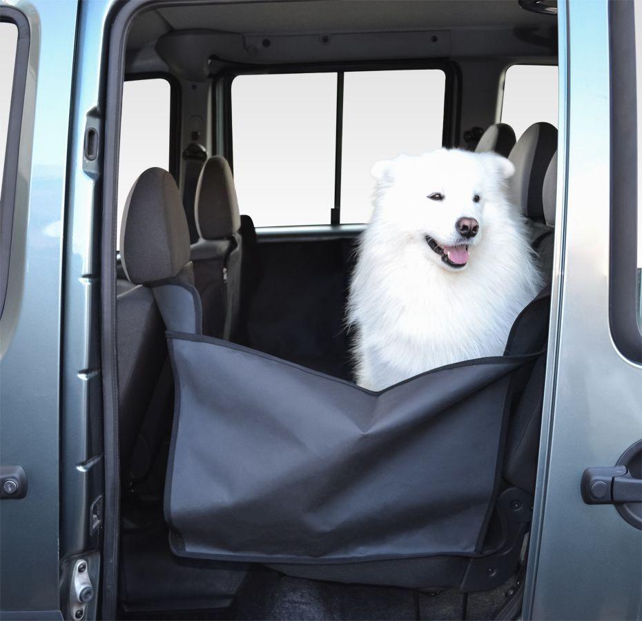 Накидка для перевозки собак ИП Сосонкина, салона автомобиля, цвет: черный, 160 х 150 см. daf 045