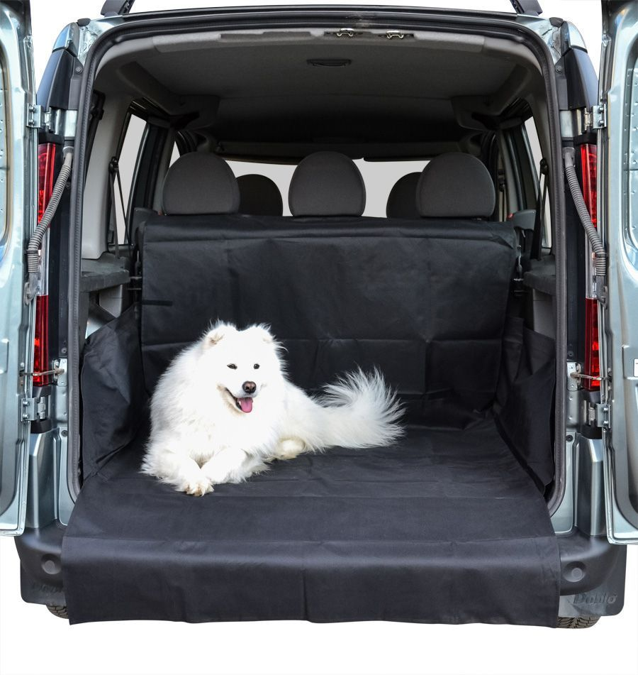 Накидка Comfort Address, для перевозки собак в багажнике автомобиля, цвет: черный. Размер XXL (120 х 70 х 150 см). daf 049PPL24Накидка Comfort Address изготовлена из прочного водоотталкивающего материала (600D) и предназначена для перевозки собак и других животных в багажнике автомобиля. Накидка поможет защитить дно и боковые стенки багажника. Спинка задних сидений так же защищена от грязи, шерсти и повреждений. Дополнительная накидка поможет защитить бампер от повреждений и грязи. Накидка подходит для любых типов и размеров багажников. Ширина: 120 см. Глубина: 100 см.Высота фронтального борта: 70 см. Высота боковых бортов: 40 см. Защита на бампер: 120 х 50 см.