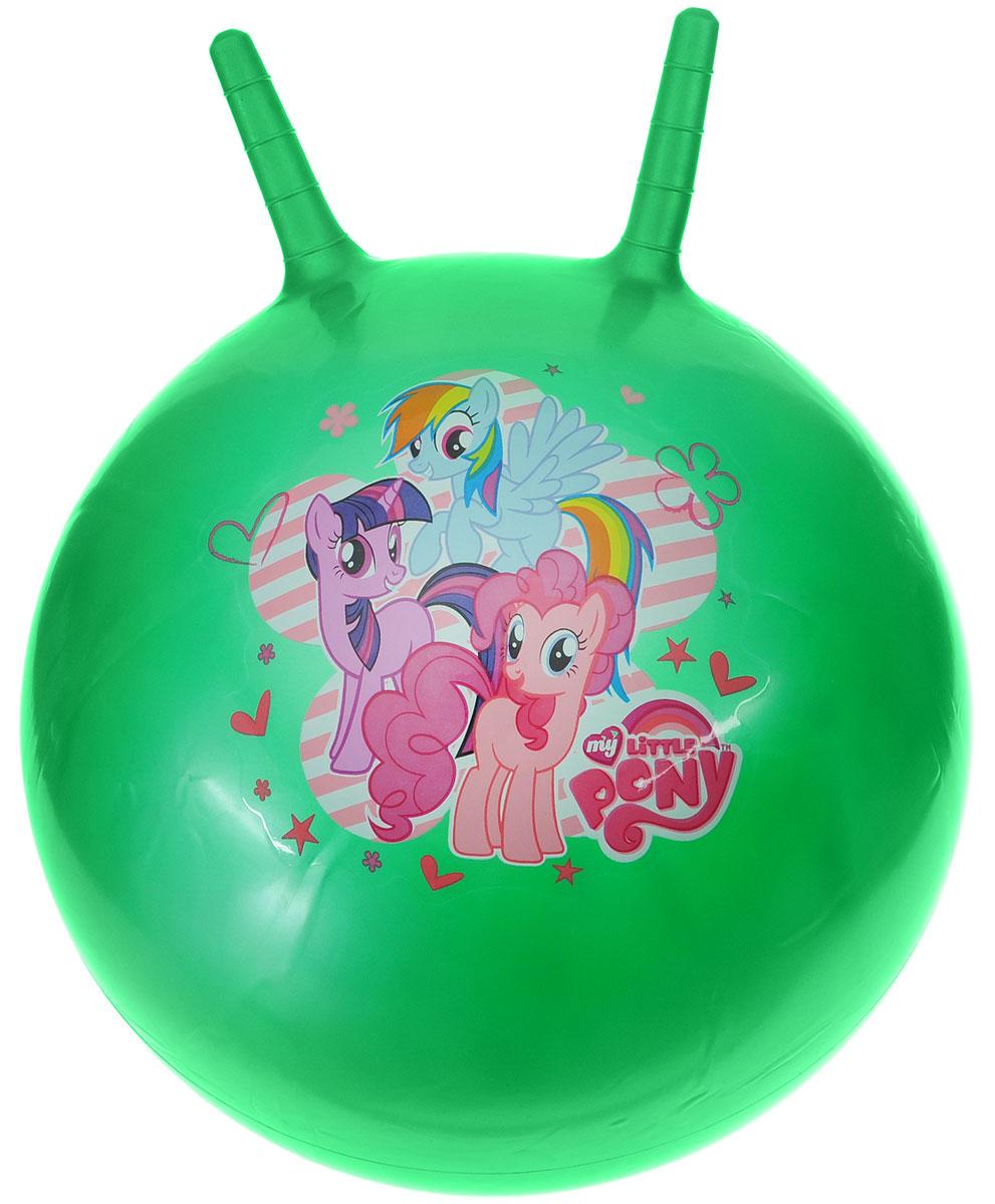 Играем вместе Мяч-прыгунок My Little Pony с рожками цвет зеленый 55 см