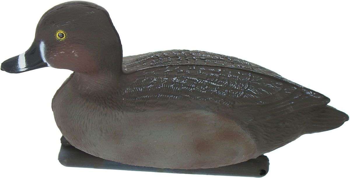 Фигура подсадная Красноголовый нырок. Селезень, 28 х 14 х 17 см162Что нужно для успешной охоты на птицу? Тут не обойтись без «приманки»: используйте подсадное чучело. Просто поместите его в место естественного обитания птицы, например, на воду или же в траву и примените манок.Не забудьте позаботиться о маскировке. Реалистичная подсадная фигура плюс духовой манок — и удачная охота обеспечена.