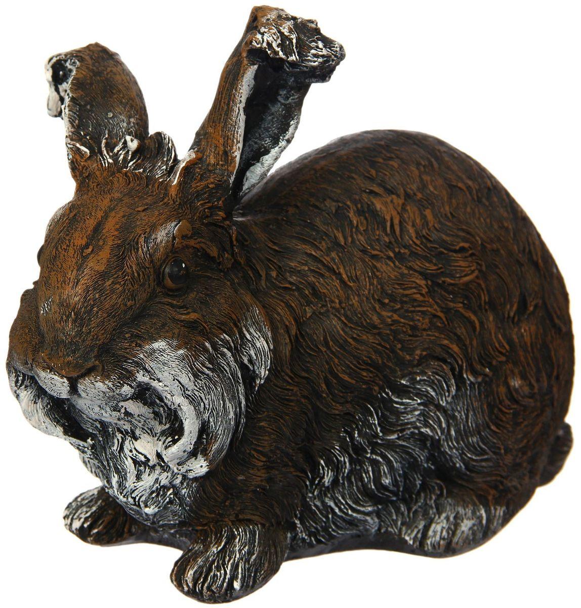 Фигура садовая Premium Gips Кролик, 23 х 12 х 18 см1423166Садовая фигура Кролик - прекрасный выбор для комфортного отдыха и эффективного труда на даче, который будет радовать вас достойным качеством.Изделие изготовлено из гипса.