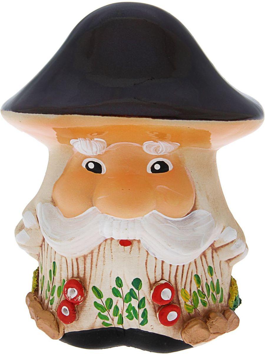 Фигура садовая Керамика ручной работы Гриб дед, 14 х 14 х 18 см531-105Фигура садовая Керамика ручной работы Гриб дед выполнена из керамики. Внешняя поверхность покрыта глазурью. Очаровательный гриб украсит сад. Расположите гриб под деревом или в траве и приятно удивите прогуливающихся гостей. Симпатичная фигурка станет прекрасным подарком заядлому садоводу. Такой декор будет гармонично смотреться в огородах и на участках с обилием зелени. Дополните пространство сада интересной деталью. Садовая фигура из керамики подойдёт для уличных условий. Этому экологичному материалу не страшны ни влага, ни ультрафиолет, ни перепады температуры.