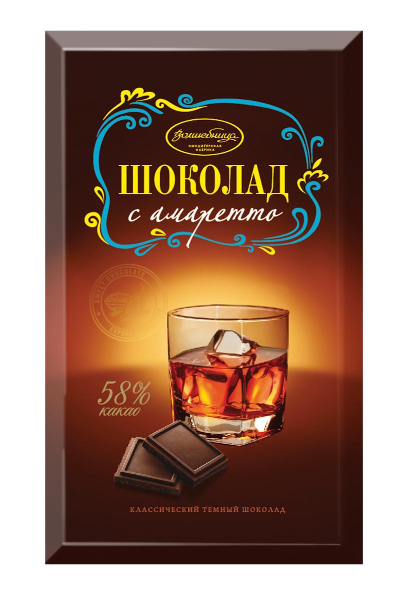 Волшебница шоколад с амаретто, 190 г1.4058Шоколад от фабрики Волшебница - это лучшие традиции классических алкогольных десертов.