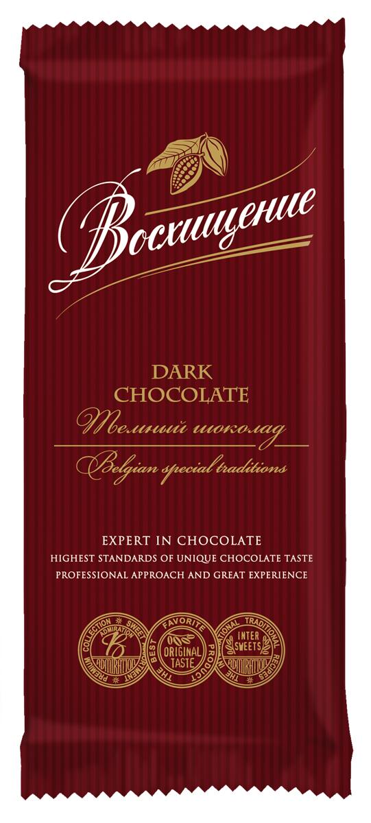 Волшебница Восхищение шоколад темный, 90 г0120710Шоколад Восхищение позволяет получить максимальное удовольствие. Каждый ломтик обещает удобство дегустации и позволяет сохранить вкус шоколада надолго.