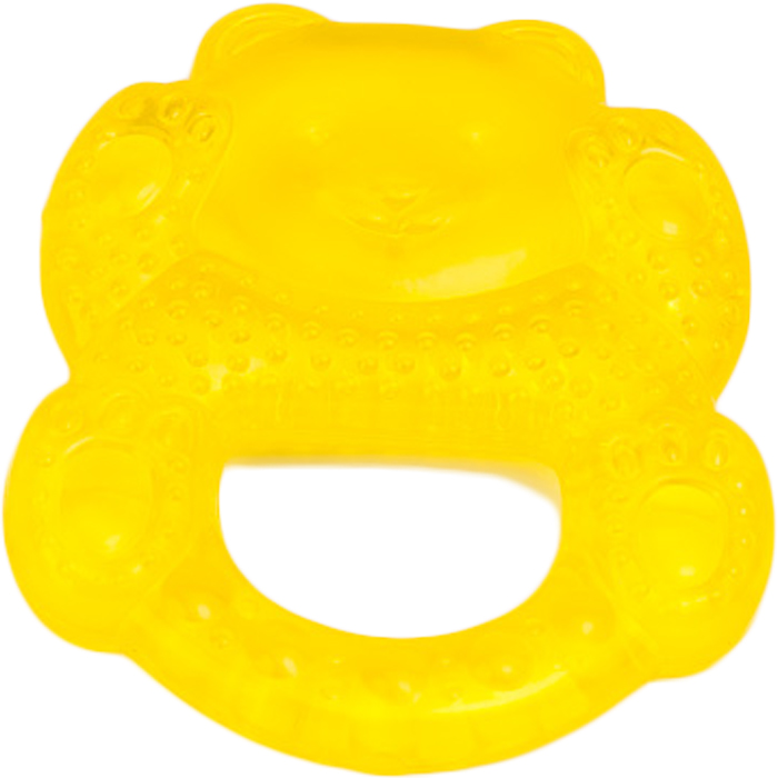 Canpol Babies Прорезыватель охлаждающий Медвежонок цвет желтый