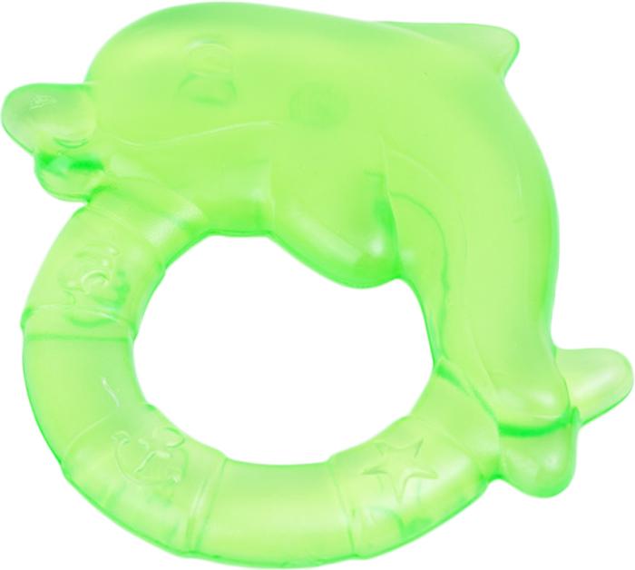 Canpol Babies Прорезыватель охлаждающий Дельфин цвет зеленый