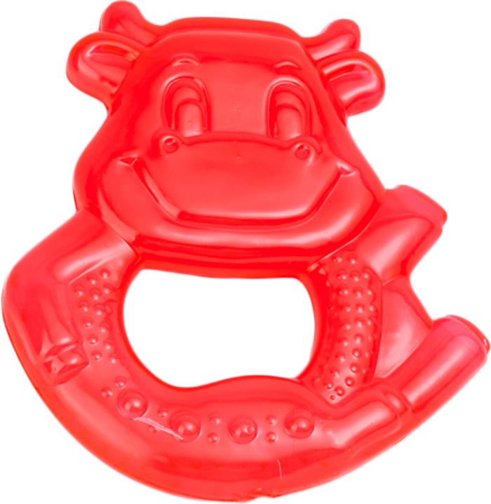 Canpol Babies Прорезыватель охлаждающий Коровка цвет красный