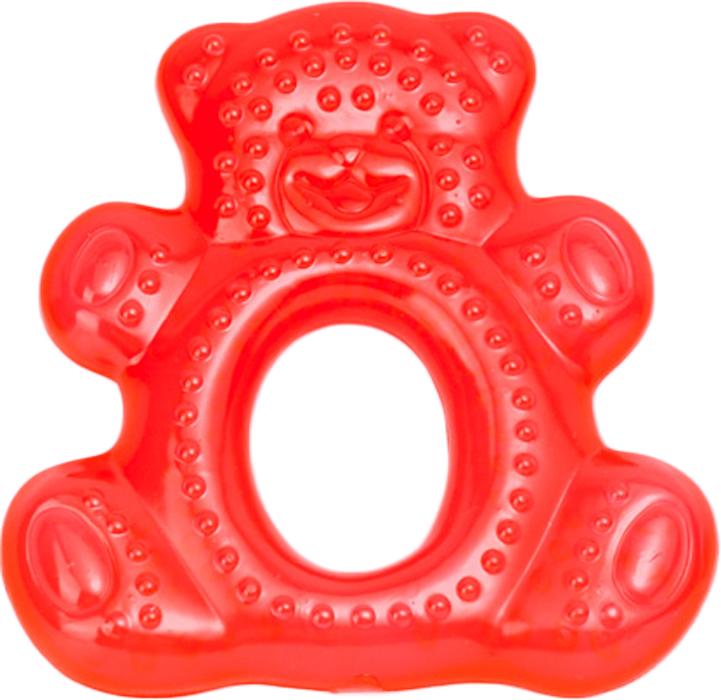 Canpol Babies Прорезыватель водный охлаждающий Мишка цвет красный