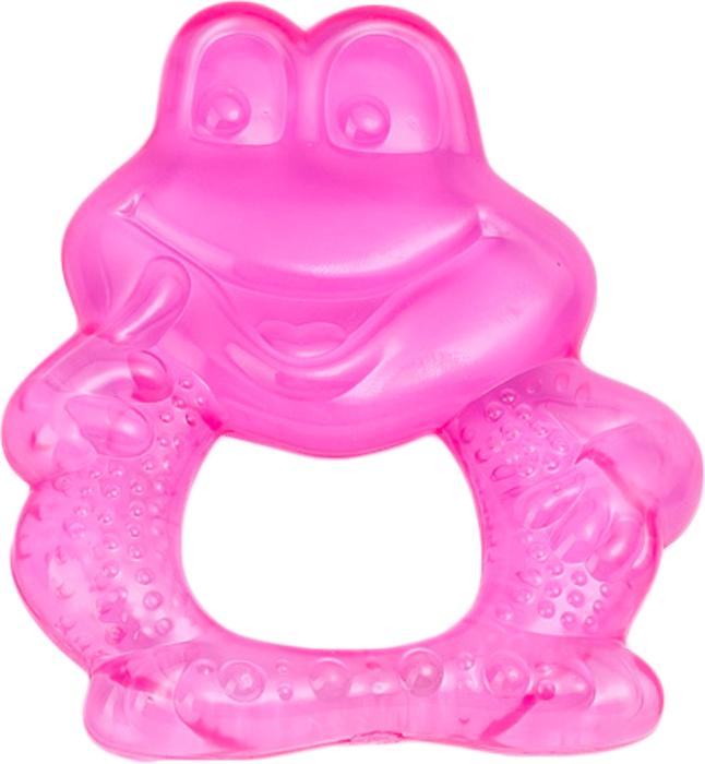 Canpol Babies Прорезыватель охлаждающий Лягушонок цвет розовый