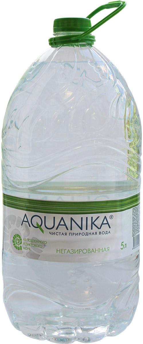 Акваника вода негазированная, 5 л1701Минеральная вода из уникального источника - подземного реликтового моря. Восстанавливает естественный баланс веществ.