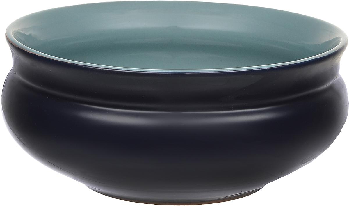 Тарелка глубокая Борисовская керамика Скифская, цвет: темно-синий, бирюзовый, 800 мл115610Глубокая тарелка Борисовская керамика Скифская выполнена из высококачественной керамики. Изделие сочетает в себе изысканный дизайн с максимальной функциональностью. Она прекрасно впишется в интерьер вашей кухни и станет достойным дополнением к кухонному инвентарю. Тарелка Борисовская керамика Скифская подчеркнет прекрасный вкус хозяйки и станет отличным подарком. Можно использовать в духовке и микроволновой печи.Диаметр тарелки (по верхнему краю): 16 см.Высота стенки: 7 см.Объем: 800 мл.