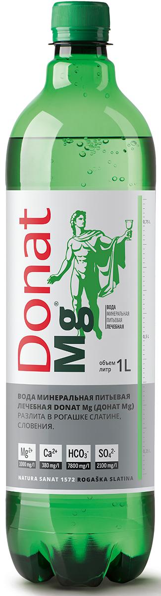 Донат Mg вода газированная, 1 л4665298010047Вода минеральная природная питьевая лечебная Donat Mg.