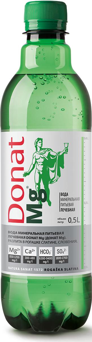 Донат Mg вода газированная, 0,5 л4607034170097Вода минеральная природная питьевая лечебная Donat Mg.