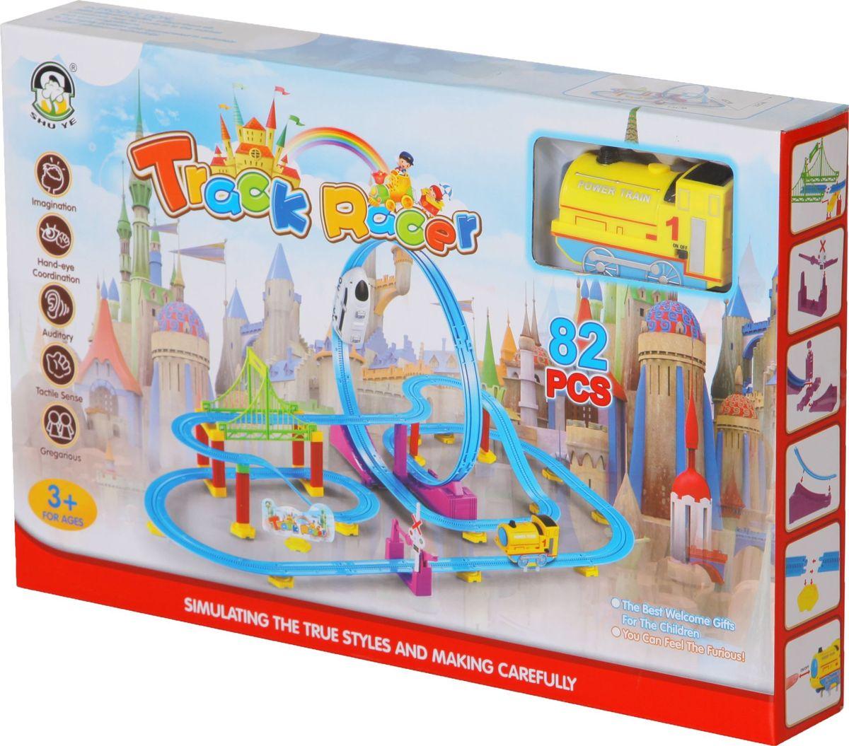 Yako Игрушечный трек Y18641012 motormax игрушечный трек мини заправочная станция