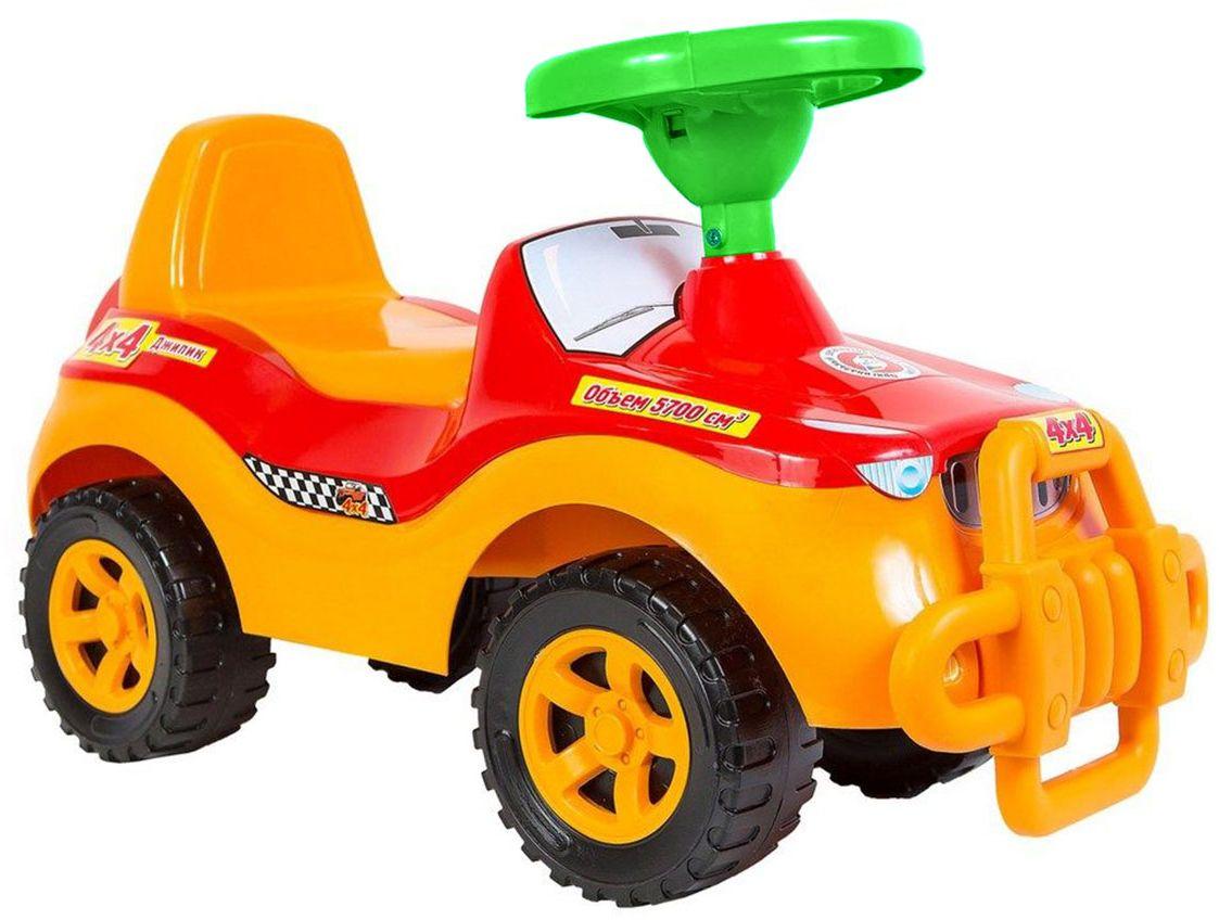 Орион Машина-каталка цвет оранжевый