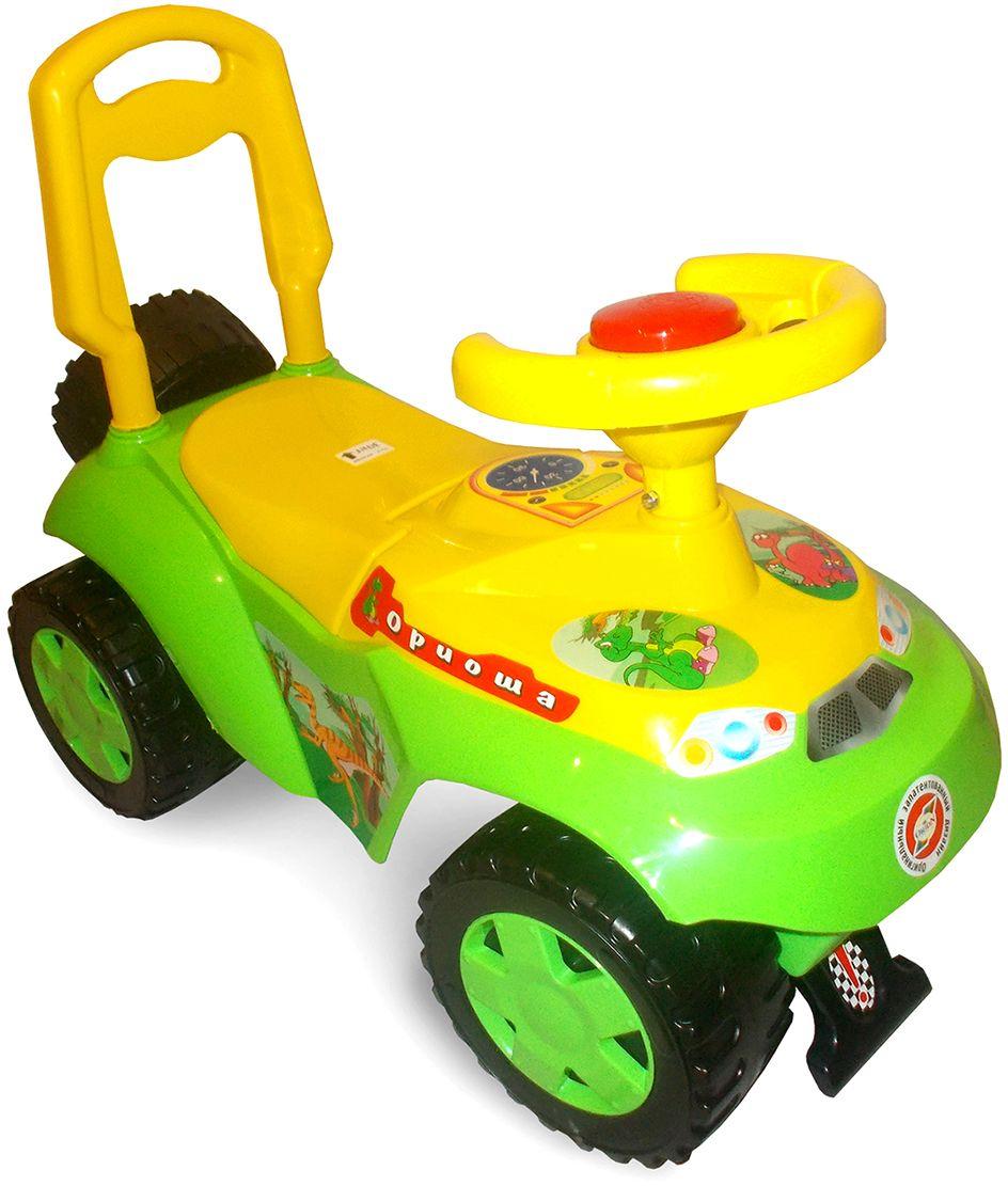 Орион Машина-каталка цвет зеленый -  Каталки, понициклы