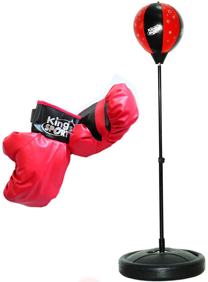 King Sport Игровой набор Бокс 2 перчатки и груша