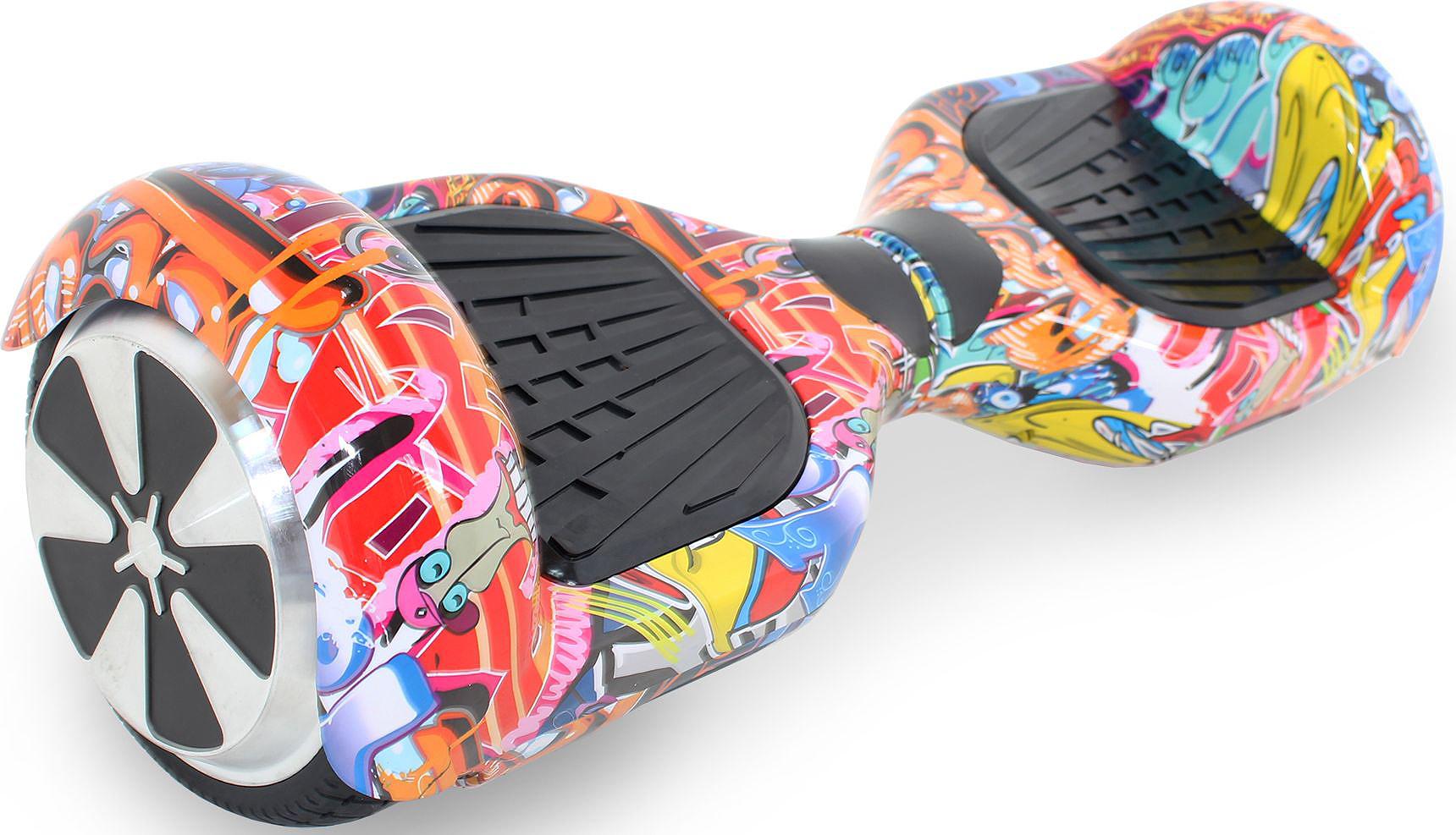 Гироскутер Hoverbot A-3 Light, цвет: Cartoon Multicolor (черный, мультиколор)AIRWHEEL M3-162.8Гироскутер Hoverbot А-3 Light это абсолютно новое и самое современное устройство в классе 6,5 колёс. Данный гаджет оснащен очень мощным мотором и высокочувствительными датчиками. Такое сочетание характеристик дало возможность вашему А-3 Light шустро ездить по дорогам даже при максимальной нагрузке 120 кг. При производстве мы используем только самые качественные комплектующие известных производителей. Светящиеся габаритные огни сделают Вас ярче всех, а также выделят в любой тусовке!!! Так же гироскутер оснащен Bluetooth технологией и очень хорошей колонкой, просто подключите ваш гаджет к устройству и наслаждайтесь любимой музыкой на полную мощность!!! Такая модель как Hoverbot А-3 Light идеально подойдёт как для профессионалов, так и для начинающих райдеров. В комплекте идет сумка для переноски устройства и имеется пульт управления, для более удобного использования. Теперь вы всегда будете ярко выделяться на гироскутере Hoverbot А-3 Light, и наслаждаться любимой музыкой в дороге.