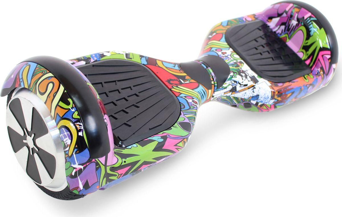 Гироскутер Hoverbot A-3 LED Light, цвет: Purple Multicolor (пурпурный, мультиколор)GA3LFELEDГироскутер Hoverbot А-3 LED Light это абсолютно новое и самое современное устройство в классе 6,5 колёс. Данный гаджет оснащен очень мощным мотором и высокочувствительными датчиками. Такое сочетание характеристик дало возможность вашему А-3 LED Light шустро ездить по дорогам даже при максимальной нагрузке 120 кг. При производстве мы используем только самые качественные комплектующие известных производителей. Яркая и разноцветная LED подсветка на крыльях сделает вас заметным при езде в темное время суток, осветит путь, а так же выделит вас в любой тусовке. Так же Гироскутер оснащен Bluetooth технологией и очень хорошей колонкой для прослушивания любимой музыки на полную мощность!!! Такая модель как Hoverbot A-3 LED Light идеально подойдёт как для профессионалов, так и для начинающих райдеров. В комплекте идет сумка для переноски устройства и имеется пульт управления, для более удобного использования. Теперь вы всегда будете ярко выделяться, используя Гироскутер Hoverbot А-3 LED Light, а также сможете насладиться любимой музыкой в дороге.