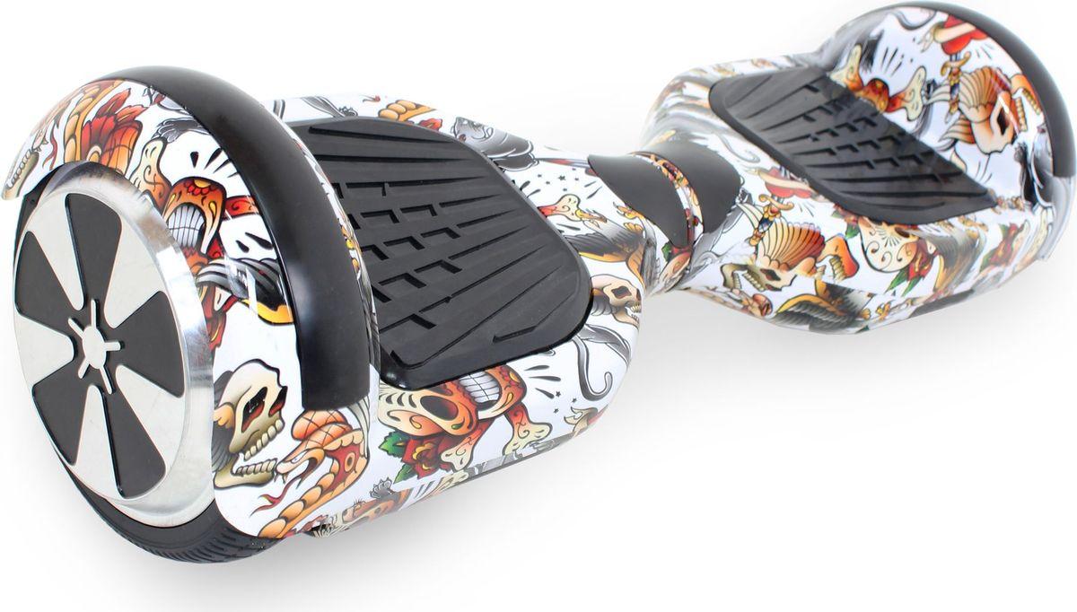 Гироскутер Hoverbot A-3 LED Light, цвет: Scull (черный, мультиколор)AIRWHEEL M3-162.8Гироскутер Hoverbot А-3 LED Light это абсолютно новое и самое современное устройство в классе 6,5 колёс. Данный гаджет оснащен очень мощным мотором и высокочувствительными датчиками. Такое сочетание характеристик дало возможность вашему А-3 LED Light шустро ездить по дорогам даже при максимальной нагрузке 120 кг. При производстве мы используем только самые качественные комплектующие известных производителей. Яркая и разноцветная LED подсветка на крыльях сделает вас заметным при езде в темное время суток, осветит путь, а так же выделит вас в любой тусовке. Так же Гироскутер оснащен Bluetooth технологией и очень хорошей колонкой для прослушивания любимой музыки на полную мощность!!! Такая модель как Hoverbot A-3 LED Light идеально подойдёт как для профессионалов, так и для начинающих райдеров. В комплекте идет сумка для переноски устройства и имеется пульт управления, для более удобного использования. Теперь вы всегда будете ярко выделяться, используя Гироскутер Hoverbot А-3 LED Light, а также сможете насладиться любимой музыкой в дороге.