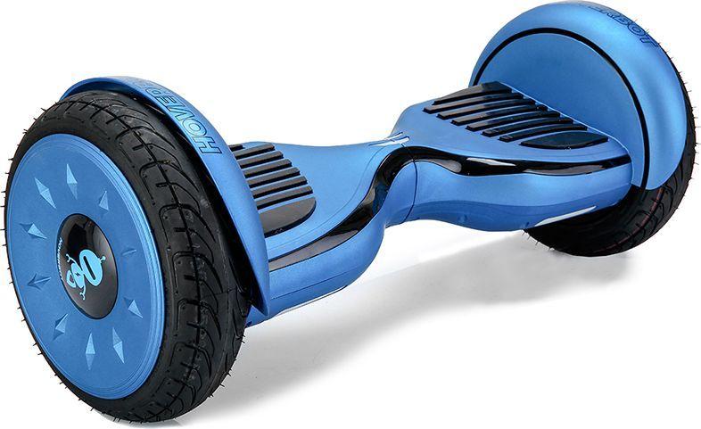 Гироскутер Hoverbot C-2, цвет: Matte Blue Black (матовый сине-черный)AIRWHEEL Q3-340WH-BLACKГироскутер Hoverbot С-2 это стильный дизайн, неизменное качество, мощность и отличная управляемость, более высокая степень пыле- и влаго- защиты всех «жизненно» важных элементов гироскутера. Единственный в своем роде 10 внедорожник с мощными моторами в 1000W. Имеет дутый дизайн корпуса, который отлично вписывается как в городские условия, так и в ландшафт парковых зон. У гироскутера Hoverbot С-2 большие надувные колёса. В которых, при желании можно снизить давление воздуха и тем самым увеличить проходимость во внедорожных условиях, например, по песку или земле. Функция САМОБАЛАНСА при включении позволит автоматически приводить устройство рабочее положение. Дополнительная амортизация и широкая платформа под ногами помогают уверенней себя чувствовать и быть всегда на высоте. Разгон у гироскутера плавный, развивает максимальную скорость 16 км/ч. К Hoverbot C-2 можно подключиться по Bluetooth для прослушивания любимой музыки, различных аудиофайлов или радио. Так же для гироскутера C-2 разработано специальное мобильное приложение Hoverbot, которое позволяет подключиться к устройству и менять режимы работы - скорость, разгон, плавность хода и еще целый ряд параметров. Стандартный пароль для подключения к любому гироскутеру Hoverbot с приложением: 000000. Гаджет Hoverbot C-2 идеально подойдёт и ребёнку, и взрослому человеку как на начальном, так и на продвинутом уровне. Яркий, качественный, мощный. Это именно то что сочетает в себе флагманский гироскутер компании Hoverbot.
