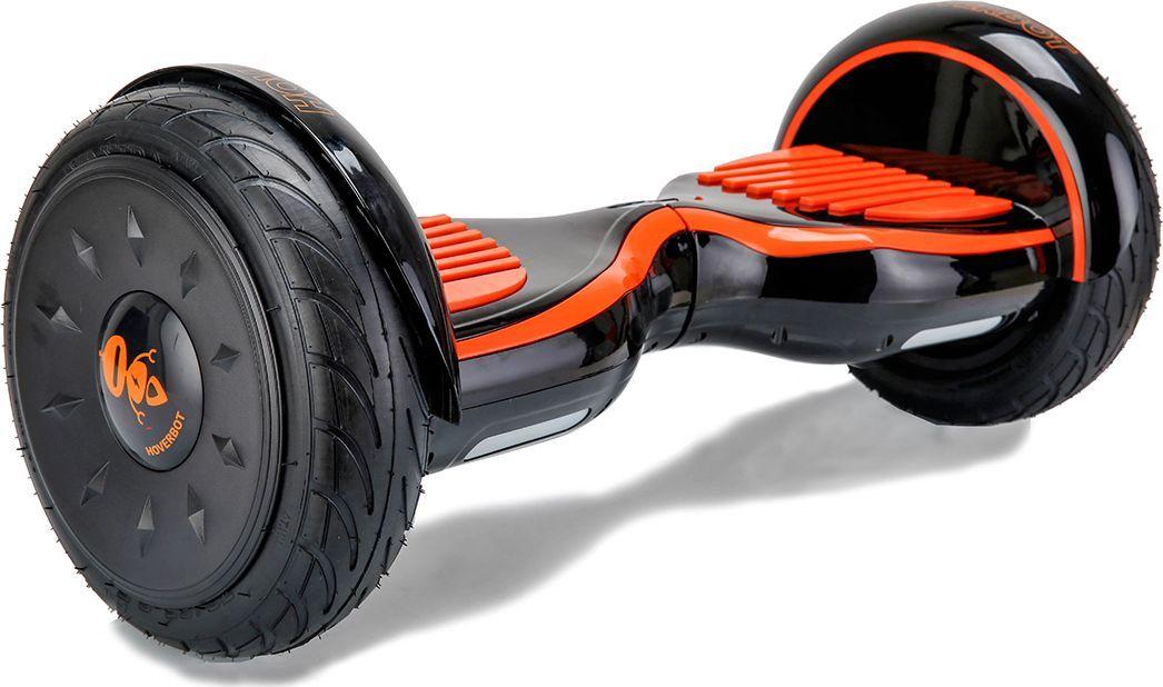 Гироскутер Hoverbot C-2, цвет: Black Orange (черный, оранжевый)AIRWHEEL M3-162.8Гироскутер Hoverbot С-2 это стильный дизайн, неизменное качество, мощность и отличная управляемость, более высокая степень пыле- и влаго- защиты всех «жизненно» важных элементов гироскутера. Единственный в своем роде 10 внедорожник с мощными моторами в 1000W. Имеет дутый дизайн корпуса, который отлично вписывается как в городские условия, так и в ландшафт парковых зон. У гироскутера Hoverbot С-2 большие надувные колёса. В которых, при желании можно снизить давление воздуха и тем самым увеличить проходимость во внедорожных условиях, например, по песку или земле. Функция САМОБАЛАНСА при включении позволит автоматически приводить устройство рабочее положение. Дополнительная амортизация и широкая платформа под ногами помогают уверенней себя чувствовать и быть всегда на высоте. Разгон у гироскутера плавный, развивает максимальную скорость 16 км/ч. К Hoverbot C-2 можно подключиться по Bluetooth для прослушивания любимой музыки, различных аудиофайлов или радио. Так же для гироскутера C-2 разработано специальное мобильное приложение Hoverbot, которое позволяет подключиться к устройству и менять режимы работы - скорость, разгон, плавность хода и еще целый ряд параметров. Стандартный пароль для подключения к любому гироскутеру Hoverbot с приложением: 000000. Гаджет Hoverbot C-2 идеально подойдёт и ребёнку, и взрослому человеку как на начальном, так и на продвинутом уровне. Яркий, качественный, мощный. Это именно то что сочетает в себе флагманский гироскутер компании Hoverbot.