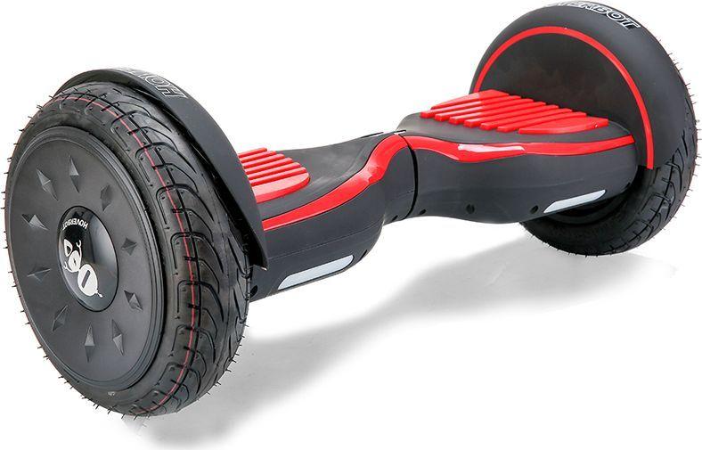 Гироскутер Hoverbot C-2, цвет: Matte Black Red (матовый черно-красный)GC1LSLГироскутер Hoverbot С-2 это стильный дизайн, неизменное качество, мощность и отличная управляемость, более высокая степень пыле- и влаго- защиты всех «жизненно» важных элементов гироскутера. Единственный в своем роде 10 внедорожник с мощными моторами в 1000W. Имеет дутый дизайн корпуса, который отлично вписывается как в городские условия, так и в ландшафт парковых зон. У гироскутера Hoverbot С-2 большие надувные колёса. В которых, при желании можно снизить давление воздуха и тем самым увеличить проходимость во внедорожных условиях, например, по песку или земле. Функция САМОБАЛАНСА при включении позволит автоматически приводить устройство рабочее положение. Дополнительная амортизация и широкая платформа под ногами помогают уверенней себя чувствовать и быть всегда на высоте. Разгон у гироскутера плавный, развивает максимальную скорость 16 км/ч. К Hoverbot C-2 можно подключиться по Bluetooth для прослушивания любимой музыки, различных аудиофайлов или радио. Так же для гироскутера C-2 разработано специальное мобильное приложение Hoverbot, которое позволяет подключиться к устройству и менять режимы работы - скорость, разгон, плавность хода и еще целый ряд параметров. Стандартный пароль для подключения к любому гироскутеру Hoverbot с приложением: 000000. Гаджет Hoverbot C-2 идеально подойдёт и ребёнку, и взрослому человеку как на начальном, так и на продвинутом уровне. Яркий, качественный, мощный. Это именно то что сочетает в себе флагманский гироскутер компании Hoverbot.