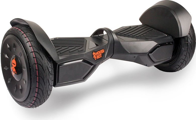 Гироскутер Hoverbot C-4, цвет: Black (черный)GC2LGBKSНовая модель гироскутера от компании Hoverbot, C-4 имеет алюминиевый каркас, ручку для удобного переноса и широкие колёса для лучшей проходимости. Космический дизайн нового гироскутера напоминает настоящий марсоход, который готов преодолеть любые сложности на своём пути. Большие и дизайнерские надувные 10-ти дюймовые колёса с монолитными дисками в любую минуту готовы доставить вас из точки А в точку Б, будь то ровный асфальт или бездорожье в парке. Мощные моторы работают без провалов, не теряя мощности даже на крутом подъёме. Самые качественные платы и датчики дают уникальную чувствительность и четкость в управлении. Очень важный момент, при эксплуатации устройства, что, наехав на препятствие гироскутер Hoverbot С-4 продолжит работать, пока препятствие не останется позади. Функция САМОБАЛАНСА при включении позволит автоматически приводить устройство рабочее положение.К Hoverbot C-4 можно подключиться по Bluetooth для прослушивания любимой музыки, различных аудиофайлов или радио. Так же для C-4 разработано специальное мобильное приложение Hoverbot, которое позволяет подключиться к устройству и менять режимы работы - скорость, разгон, плавность хода и еще целый ряд параметров. Стандартный пароль для подключения к любому гироскутеру Hoverbot с приложением: 000000. Гаджет Hoverbot C-4 рассчитан для продвинутых пользователей. Яркий, качественный, мощный. Это именно то что сочетает в себе флагманский гироскутер компании Hoverbot.