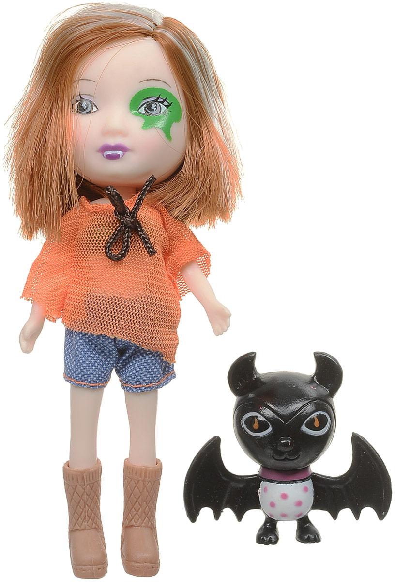 Veld-Co Мини-кукла Mona с летучей мышью veld co мини кукла mona с черепахой