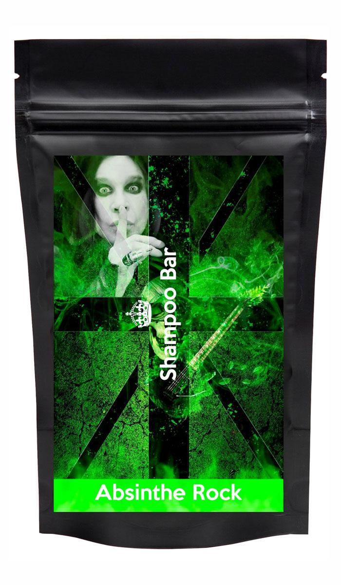 Shampoo Bar Твердый шампунь для длительной чистоты 6в1 Absinthe Rock с полынью и анисом, мужской, 80 грMP59.4DТвердый шампунь Shampoo Bar Absinthe Rock с полынью и анисовым маслом для длительной чистоты ваших волос, в оригинальной упаковке от самого рок-н-рольного дизайнера.
