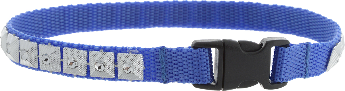 Ошейник для животных GLG Египетская сила, ширина 1 см, обхват шеи 28 см0120710Ошейник для животных GLG Египетская сила с оригинальным дизайном изготовлен из нейлона и высококачественного пластика. Сверхпрочные нити делают ошейник надежным и долговечным. Ошейник отличается высоким качеством, удобством и универсальностью.Обхват шеи: 28 см. Ширина ошейника: 1 см.