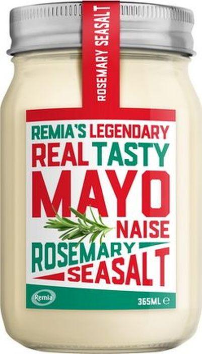 Remia майонез с розмарином и морской солью, 365 мл0120710Сливочный майонез с Дижонской горчицей, розмарином и морской солью. Для жареного мяса, котлет