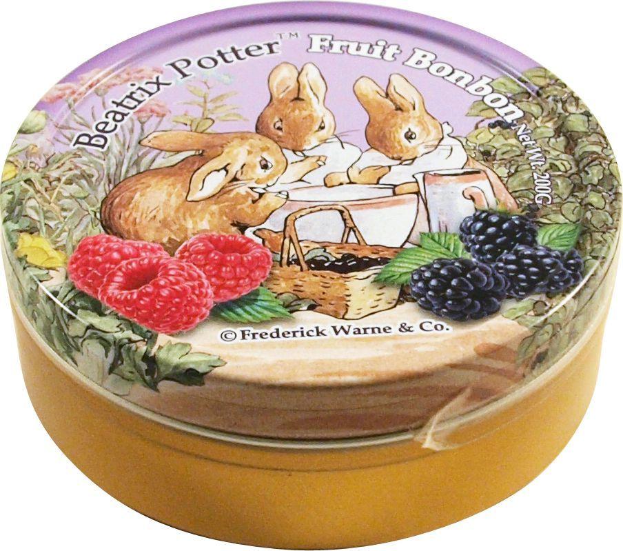 Beatrix Potter Лесные ягоды леденцы, 200 г6.6.12Леденцы со вкусом малины, ежевики и черники.