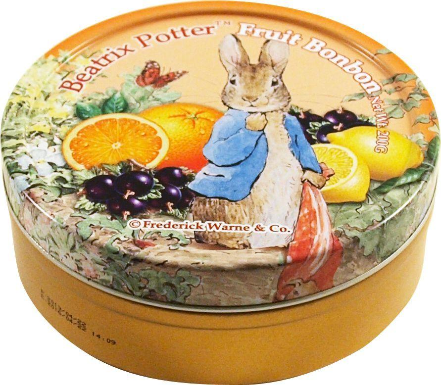 Beatrix Potter Фруктовое ассорти леденцы, 200 г6.6.11Леденцы со вкусом лимона, апельсина и смородины.