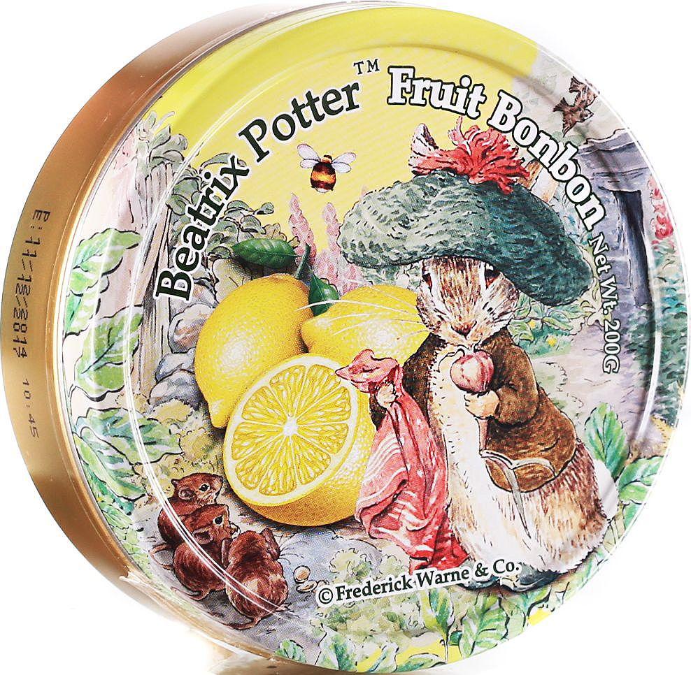 Beatrix Potter Лимон леденцы, 200 г6.6.13Фруктовые леденцы со вкусом лимона.