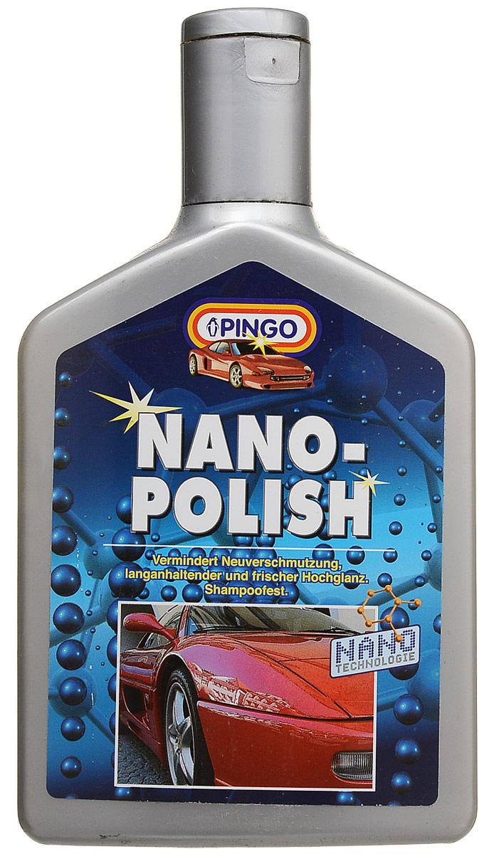 Нано-полироль Pingo, 500 млVL-17EНовейший продукт,изготовленный с применением современных нано-технологий. Нано-полироль Pingo - результат многолетних исследований новых материалов и технологий, позволяющих обеспечить лакокрасочному покрытию автомобиля надежную длительную консервацию и сочный блеск. Входящие в состав препарата компоненты мягко очищают верхний окислившийся слой лакового покрытия, устраняя мелкие царапины и задиры. Восстанавливает насыщенный цвет, придает яркий блеск. Состав не смывается автошампунем в течение длительного времени. Применяется как для обычных лакокрасочных покрытий, так и для покрытий металлик. Характеристики:Вес: 500 мл.