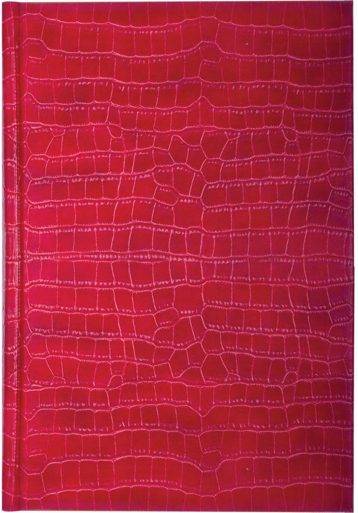 Brauberg Ежедневник Comodo 160 листов цвет красный формат A572523WDВеликолепная возможность прикоснуться к легендарной рептилии на расстоянии. Обложка, стилизованная под кожу крокодила, тонированная бумага и позолоченный боковой срез - сочетание элегантности и роскоши.
