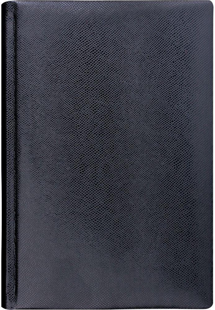 Brauberg Ежедневник Iguana 160 листов цвет черный формат A672523WDСчитается, что вещи, сделанные из змеиной кожи, никогда не выйдут из моды. Модная фактура и насыщенные цвета придают изделиям особый шик и легкую загадочность.