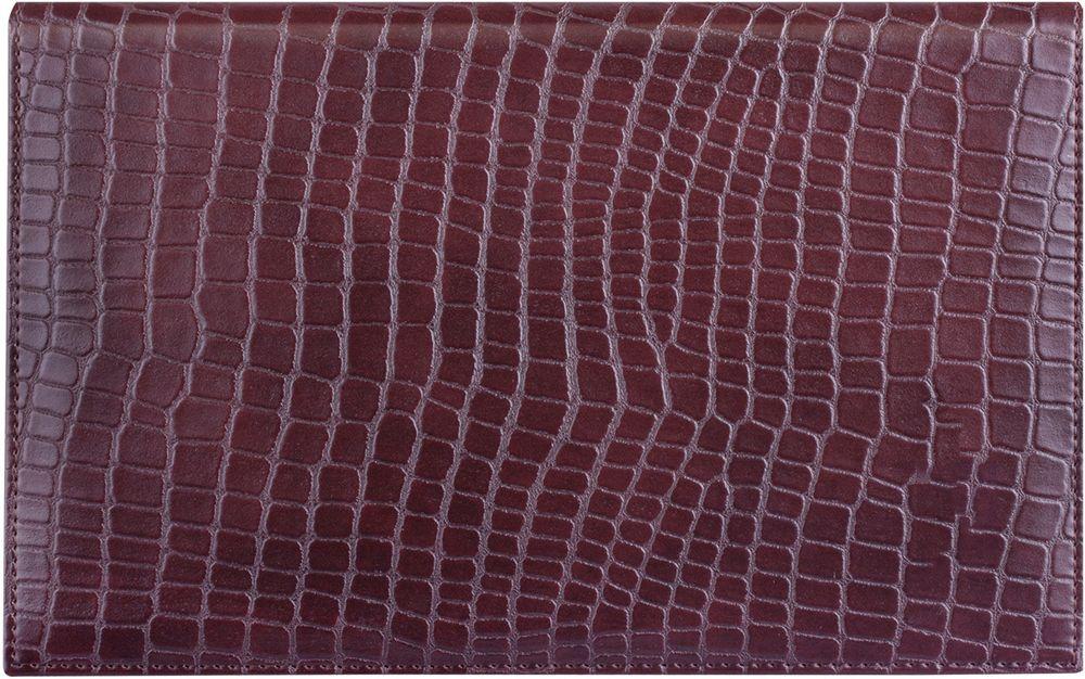 Brauberg Ежедневник Alligator недатированный 72 листа цвет коричневый формат A6125103Недатированный ежедневник Brauberg Alligator - создан для ценителей экзотики и обладает магнетизмом стремительного хищника, давшего ей свое имя. Рельефная рубленная фактура обложки под крокодиловую кожу символизирует неукротимую мощь хозяина тропических рек.Особенности: - Печать в две краски. - Закладка-ляссе. - Перфорация угла. - Обширный справочный материал. - Обложка подходит для горячего тиснения.