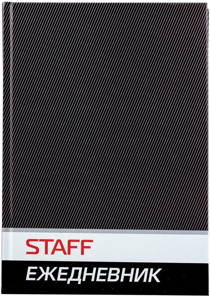 Staff Ежедневник недатированный 128 листов цвет черный формат A5127055Недатированный ежедневник Staff предназначен для ведения записей. Отсутствие дат делает его уникальным товаром, которым можно начать пользоваться в любое время. Выпускается в жестком переплете, покрытом глянцевой пленкой. Надежен и практичен в применении.