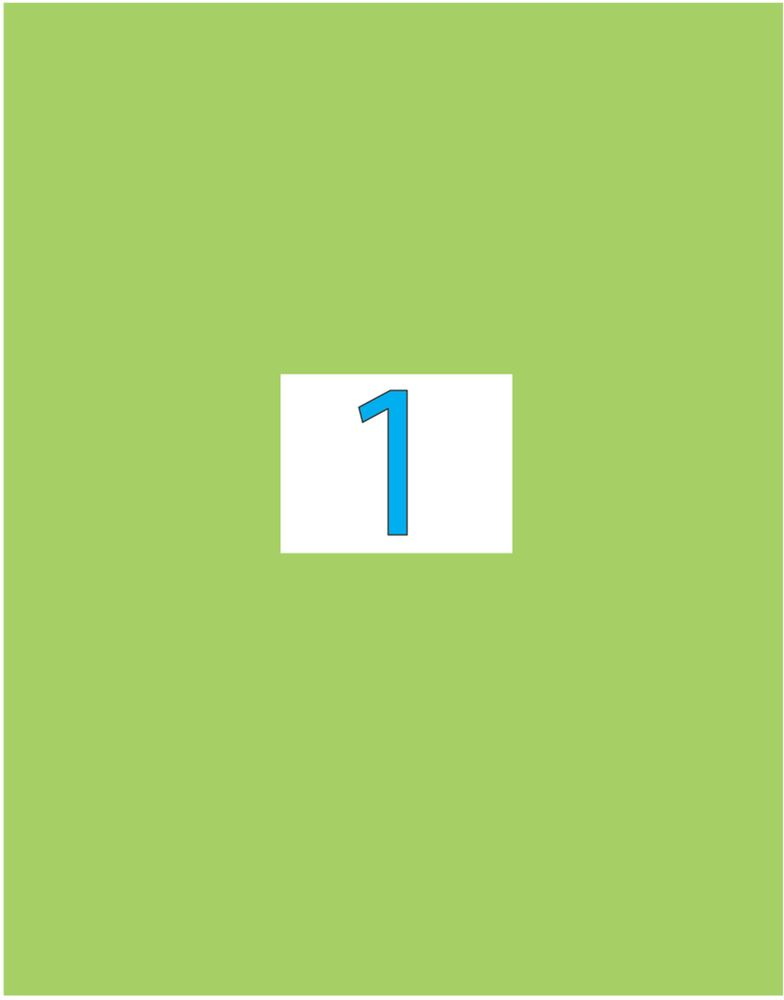 Brauberg Этикетка самоклеящаяся 21 х 29,7 см цвет зеленый 50 листов0703415Самоклеящиеся этикетки позволят быстро и качественно подготовить адресные наклейки, регистрационные номера, аннотации при помощи лазерного или струйного принтера. Совместимы со всеми видами офисной техники.
