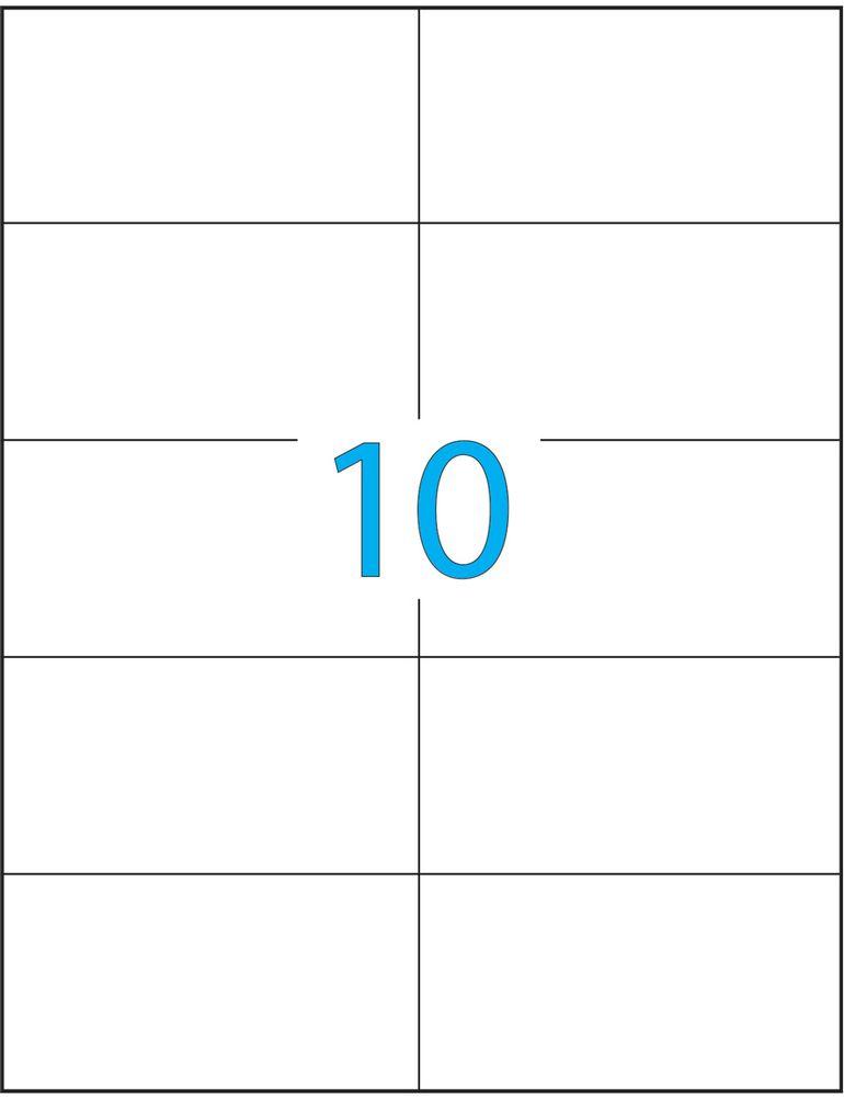 Brauberg Этикетка самоклеящаяся 5,7 х 10,5 см 10 шт х 50 листовC13S400035Самоклеящиеся этикетки позволят быстро и качественно подготовить адресные наклейки, регистрационные номера, аннотации при помощи лазерного или струйного принтера. Совместимы со всеми видами офисной техники.